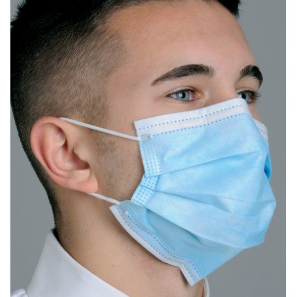 50 Details Blue Mk7100 Mydent Level Earloop Mask Fit Defend Dual About Pleated 1 bx Face