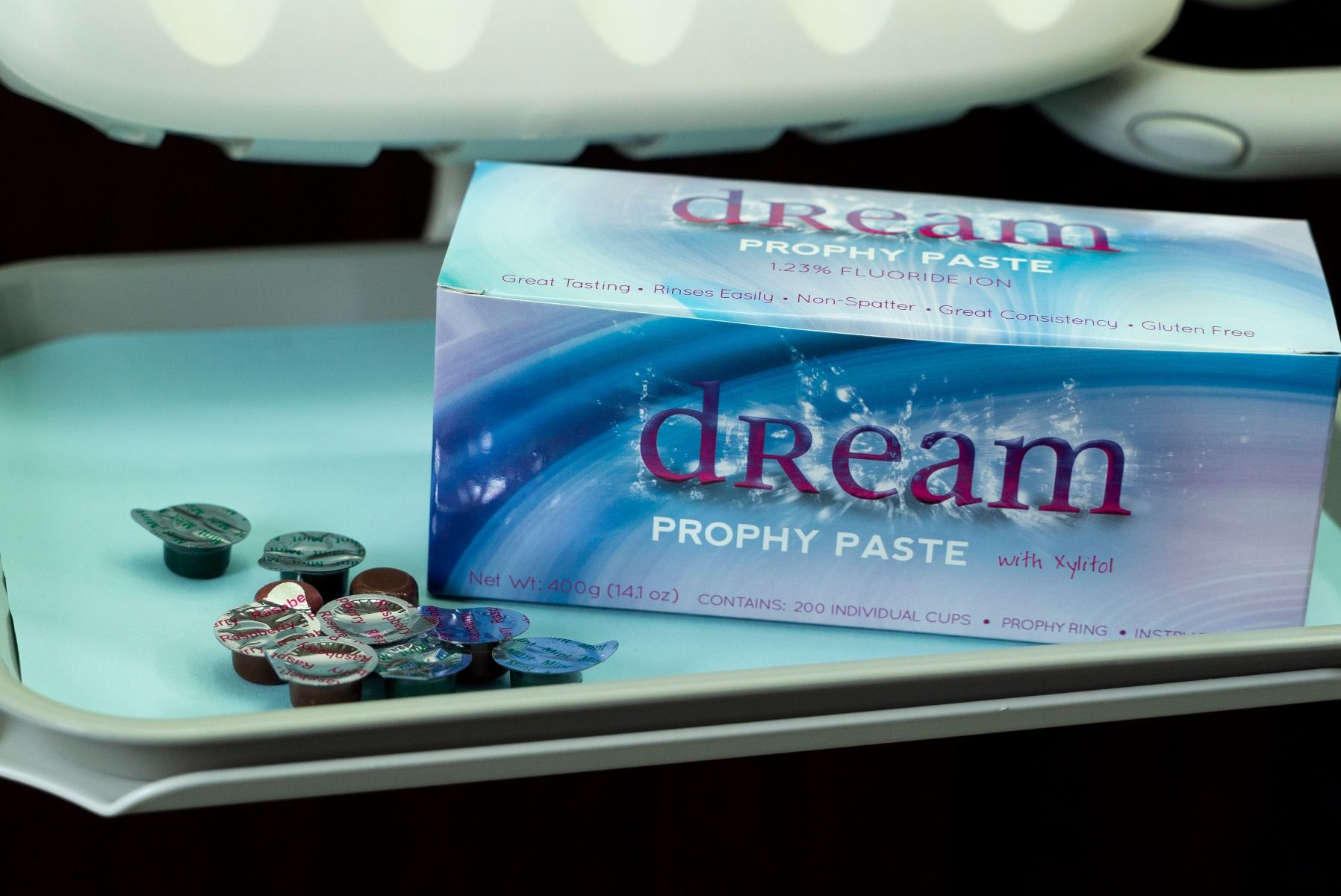 Details about House Brand PP-GC Dream Prophy Paste Cups 1 25% APF Grape  Coarse 200/Bx